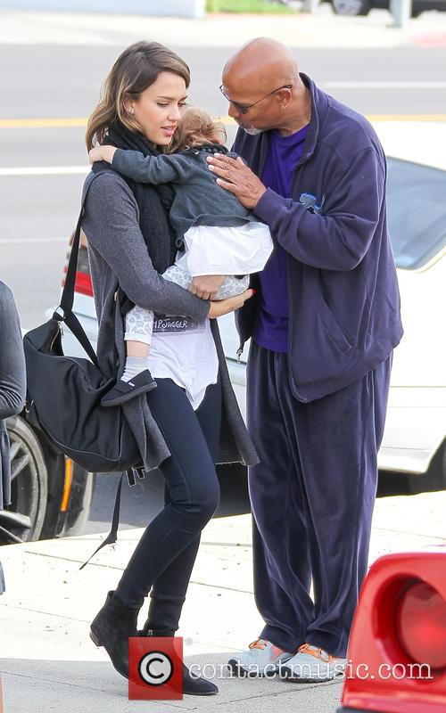 Jessica Alba, Haven Warren and Michael Warren 3
