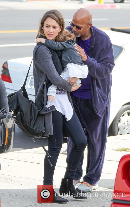 Jessica Alba, Haven Warren and Michael Warren 6