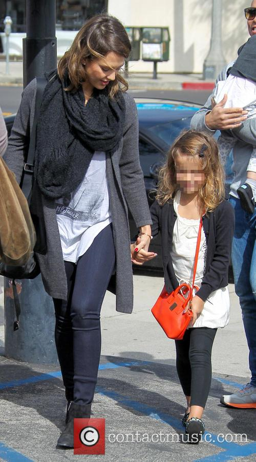 Jessica Alba and Honor Warren 10