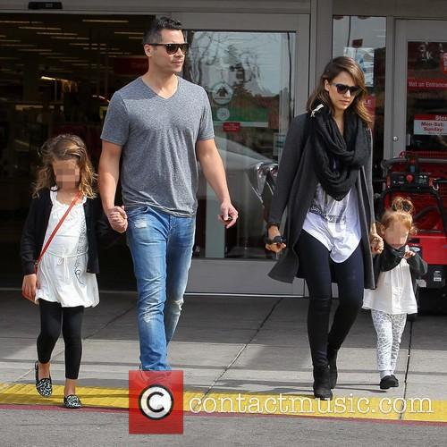 Jessica Alba, Cash Warren, Haven Warren and Honor Warren 3