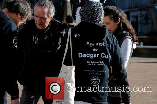 Birmingham and Badger Cull Protest 4