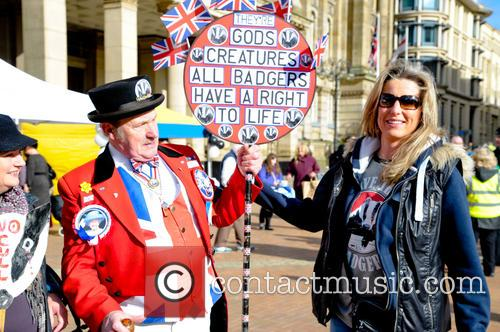 Birmingham and Badger Cull Protest 6