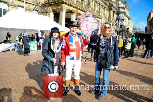 Birmingham and Badger Cull Protest 7