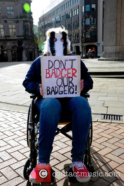 Birmingham and Badger Cull Protest 11