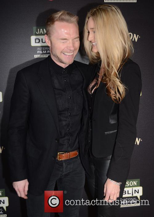 Ronan Keating and Storm Uechtritz 6