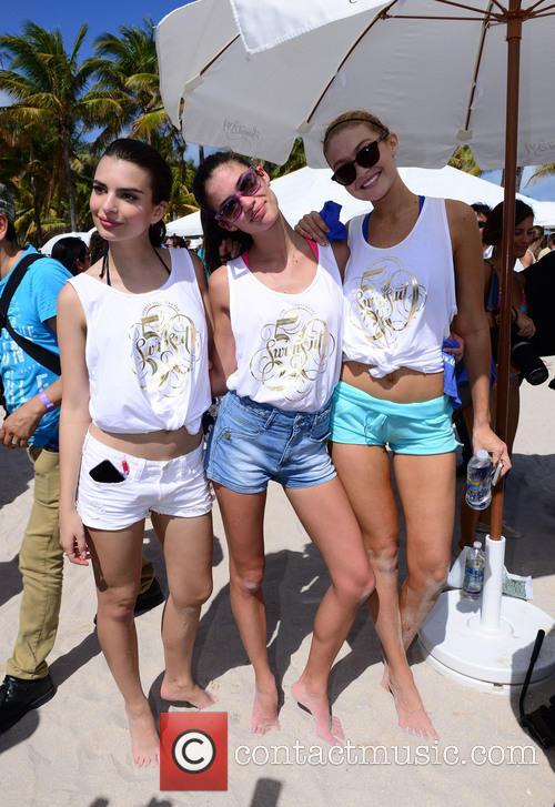 Emily Katajkowski, Sara Sampaio and Gigi Hadid 2