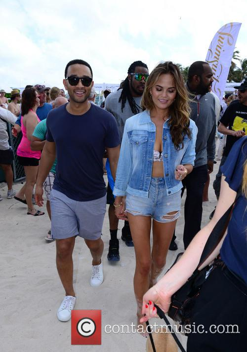 John Legend and Christine Teigen 5