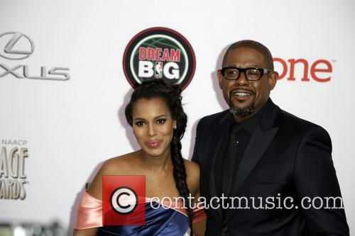 Kerry Washington and Forest Whitaker 11