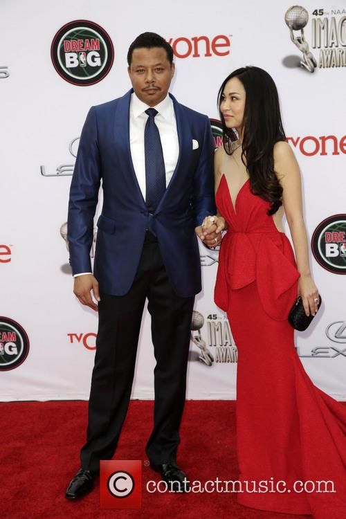 Terrence Howard and Wife 5