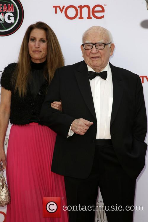 Guest and Ed Asner 11