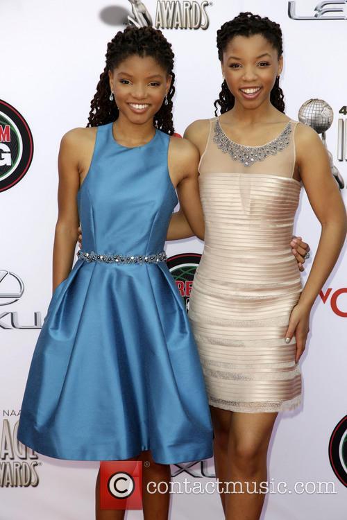 Halle Bailey and Chloe Bailey 2