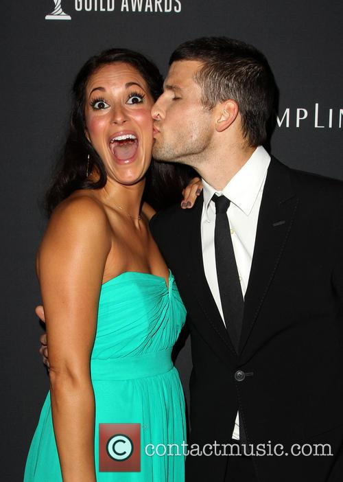 Angelique Cabral, Parker Young, The Beverly Hilton