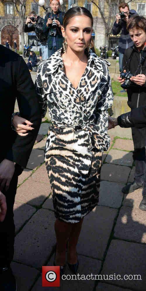 cheryl cole milan fashion week womenswear autumn 4081679