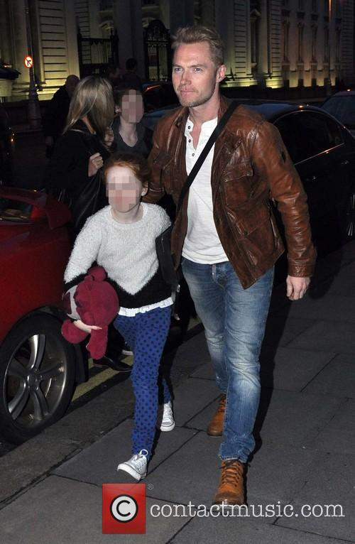 Ronan Keating and Ali Keating 7