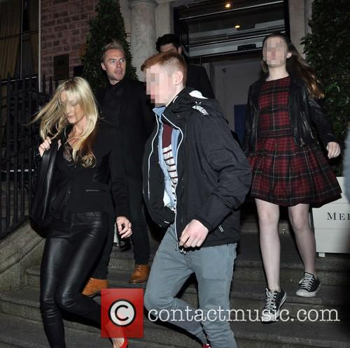 Storm Uechtritz, Ronan Keating, Jack Keating and Missy Keating 1