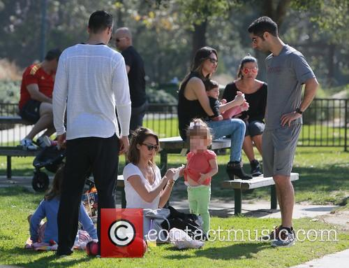 Jessica Alba, Haven Warren, Honor Warren, Cash Warren and Josh Alba 4