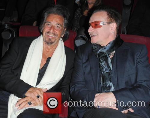 Bono and Al Pacino 1
