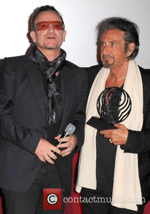 Bono and Al Pacino 3
