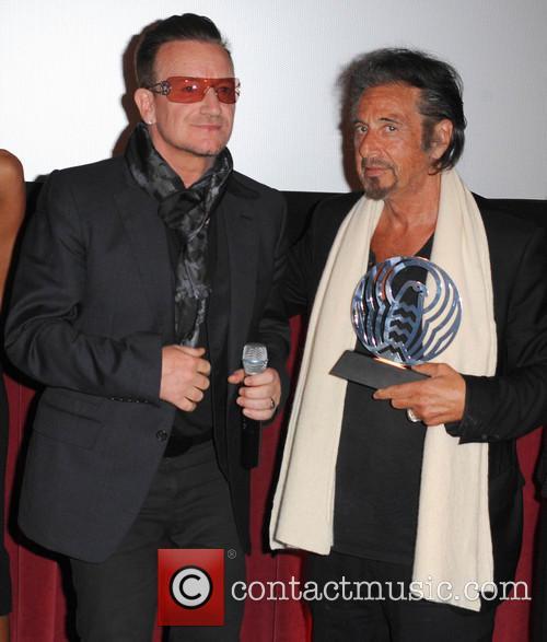 Bono and Al Pacino 4