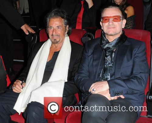 Bono and Al Pacino 5