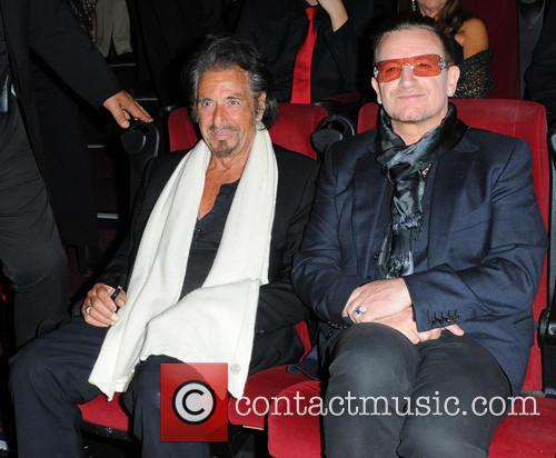 Bono and Al Pacino 7