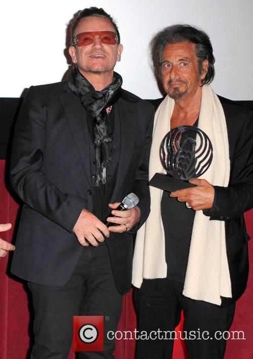 Bono and Al Pacino 9