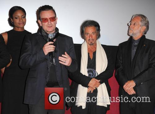 Bono, Al Pacino and Naomie Harris 2