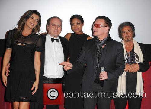 Bono, Al Pacino and Naomie Harris 6