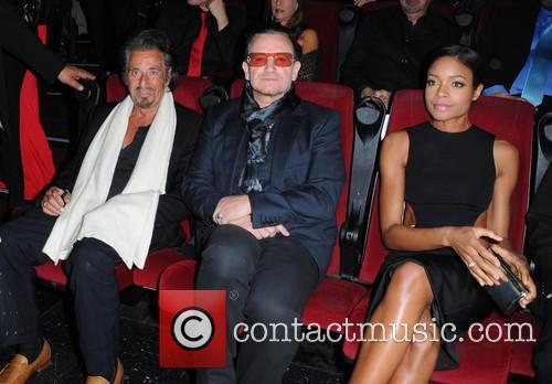 Bono, Al Pacino and Naomie Harris 10