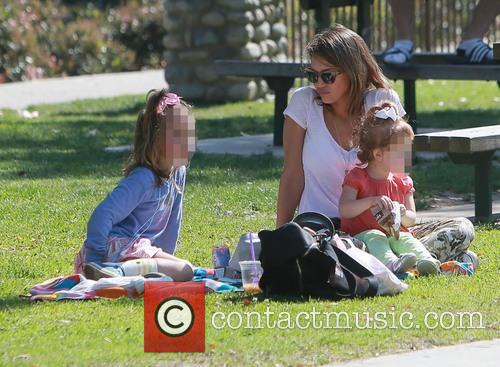 Honor Warren, Jessica Alba and Haven Warren 4