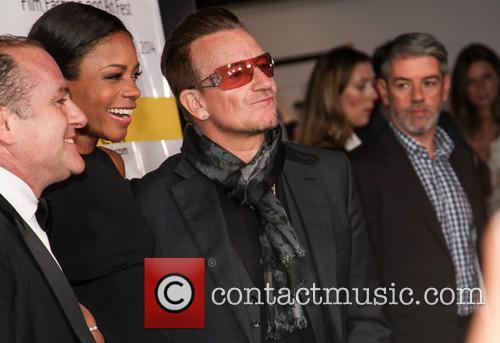 Naomie Harris and Bono 2
