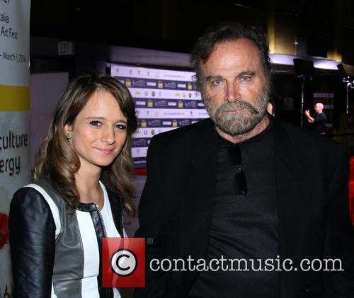 Franco Nero and Maria Elena
