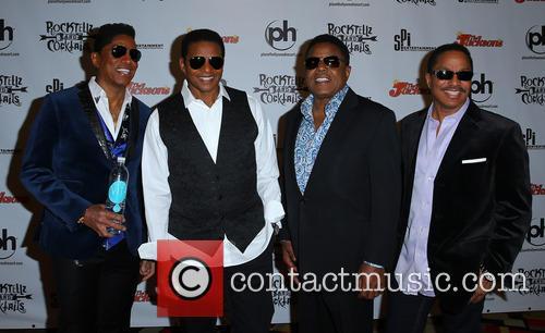Jermaine Jackson, Jackie Jackson, Tito Jackson and Marlon Jackson 1