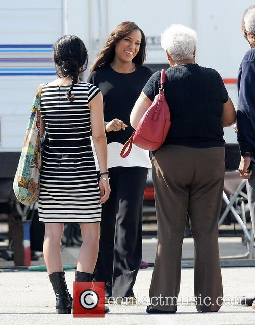 Kerry Washington and Valerie 5