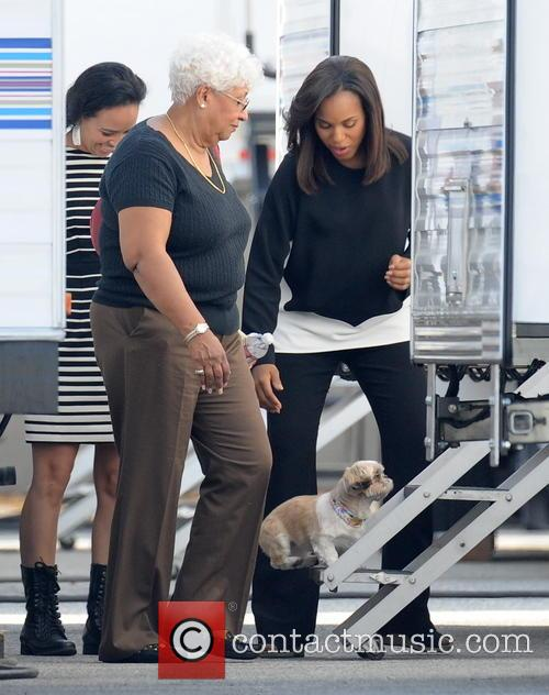 Kerry Washington and Valerie 8