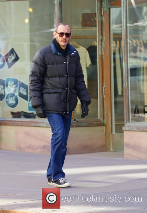 Terry Richardson out and about in the East...