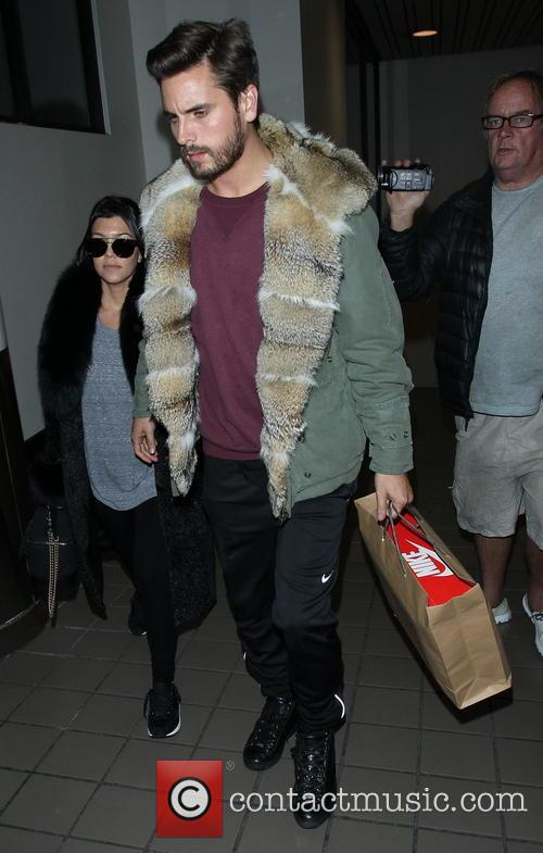 Kourtney Kardashian and Scott Disick 5