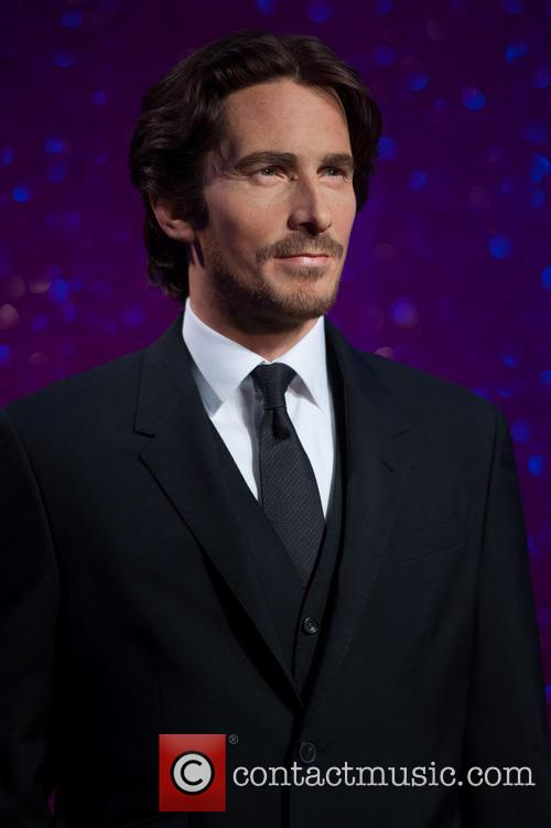 Christian Bale at Tussauds