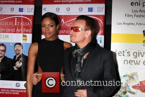 Naomie Harris and Bono 3