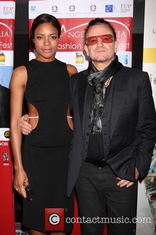 Naomie Harris and Bono 4