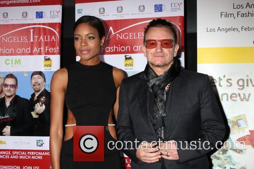 Naomie Harris and Bono 1