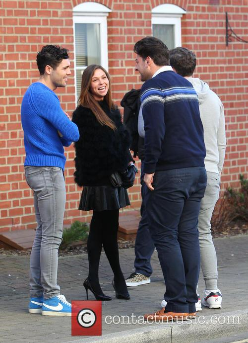 James Argent, Tom Pearce and James Bennewith 6