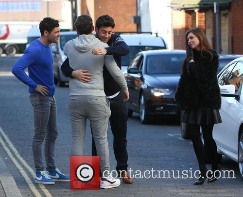 James Argent, Tom Pearce and James Bennewith 8