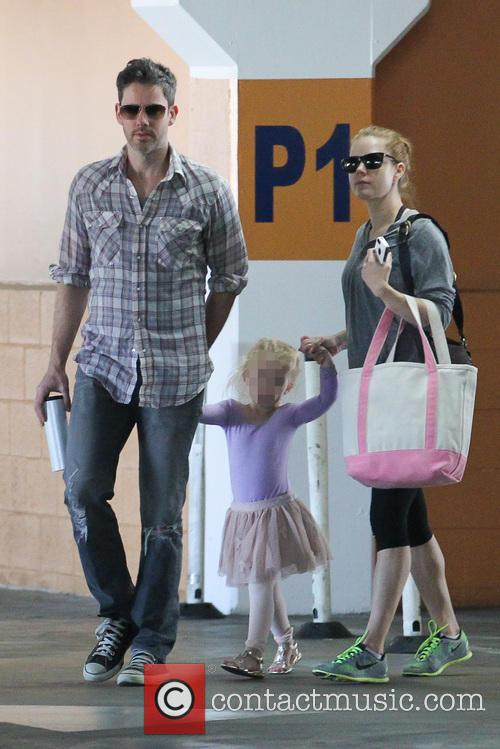 Amy Adams, Darren Le Gallo and Aviana Olea Le Gallo 2