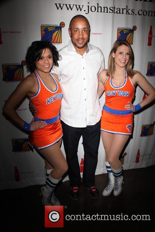 John Starks and Knicks City Dancers 3