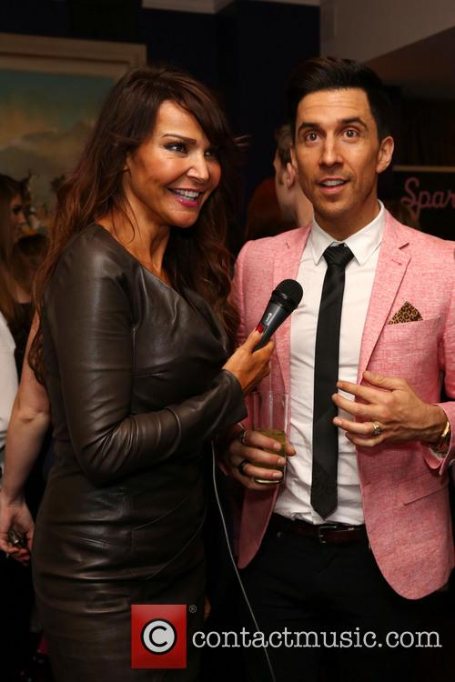 Lizzie Cundy and Russell Kane 2