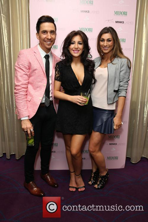 Russell Kane, Lindsey Cole and Luisa Zissman 5