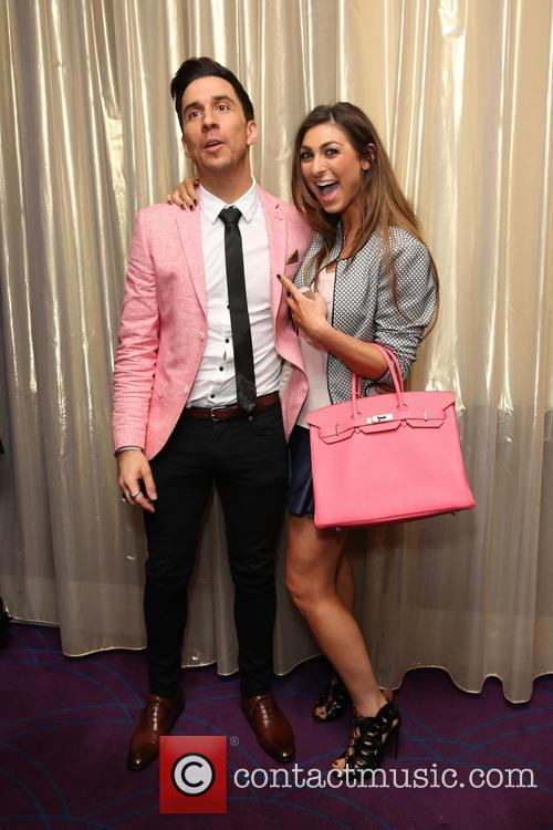 Russell Kane and Luisa Zissman 7