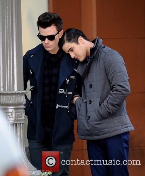 Chris Colfer and Darren Criss 6
