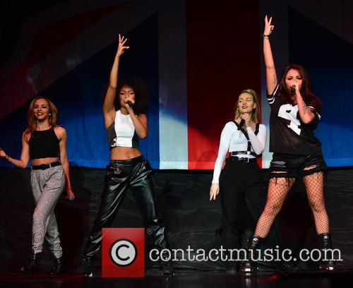 Jade Thirlwall, Leigh-anne Pinnock, Perrie Edwards and Jesy Nelson Of Little Mix 3